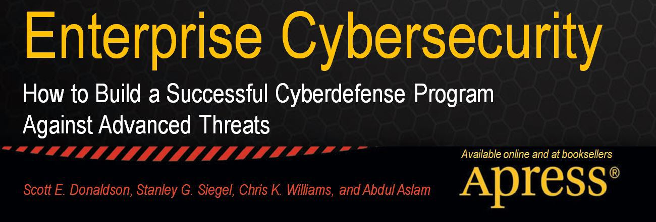 Enterprise Cybersecurity Book